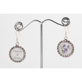 Violetta di Parma earrings