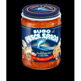 Sugo Pescespada con pomodorini di Sicilia alla Mediterranea 130g