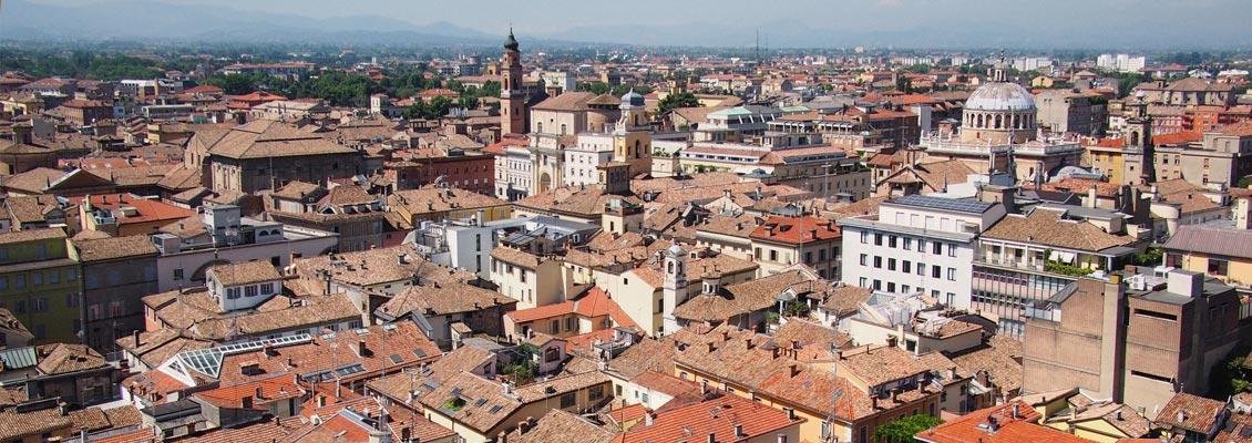 I tetti di Parma